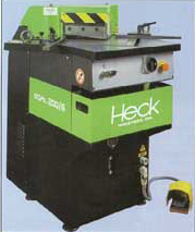 Heck - Fixed Angle - Hydraulic Corner Notchers