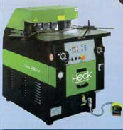 heck - variable angle - hydraulic corner notcher