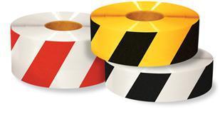 floor tape diagonal stripes