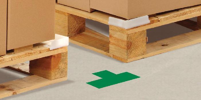 floor tape T floor markers