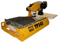 "multiquip TP24X - professional 10"" tile saw - stainless tray"