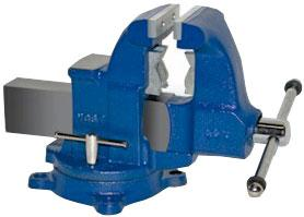 Heavy Duty Industrial Combination Bench Vise - Swivel Base