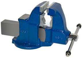 Heavy Duty Industrial Combination Bench Vise - Stationary Base