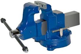 Heavy Duty Industrial Machinists' Bench Vise - Swivel Base